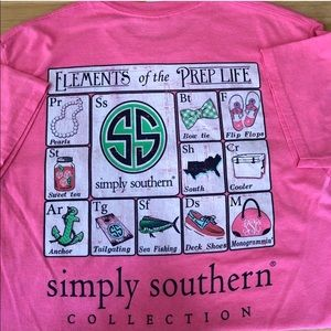 Simply Southern Elements of the Prep Life Tee